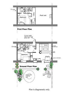 Floor plans - diagramatic