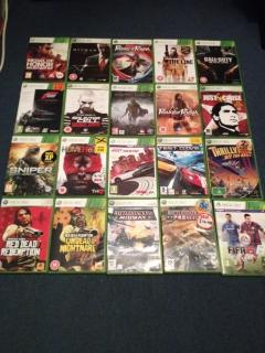Selection of Games for XBOX