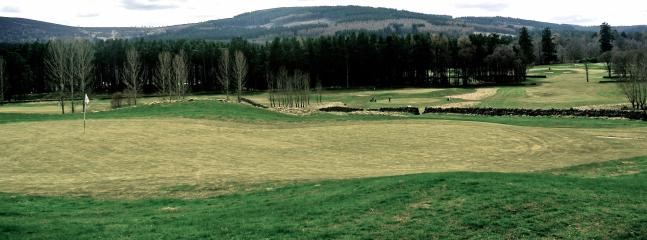 On-site 9 hole golf course at Inchmarlo Golf Resort