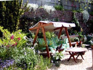 Swing no nosso jardim murado