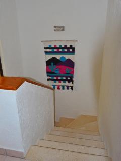 2-Bedroom Condo - Stairwell to second floor