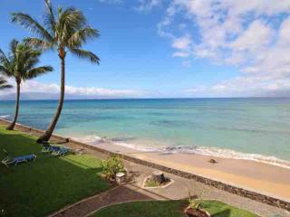 Lokelani Direct Oceanfront Two Bedroom Condominium, Honokowai