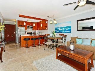 Beautiful 2-bedroom condo, sleeps 6, washer/dryer and free parking!, Honolulu