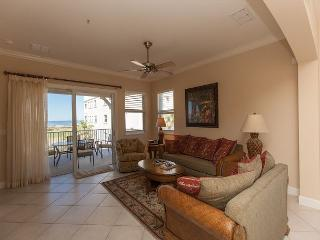 Cinnamon Beach End Unit - 345 !! Over 2100 sf with Ocean and Golf Views !