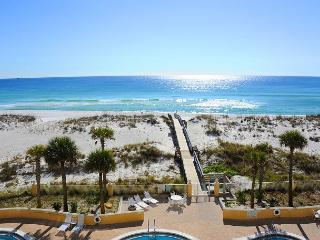 3rd fl Gulf-front w/FREE beach chairs/umbrella set-up, Pensacola Beach