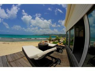 Buddha Beach, 1 BR condo, St Martin shore location, Baie Nettle
