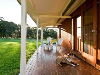 Heath Lodge sunset views from your private veranda, Stanthorpe