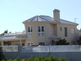 Beachfront VILLA - STUNNING sea views & own large POOL