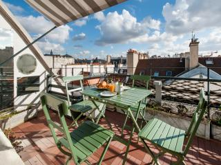 1BD/1BTH with large terrace in the 1st district near the Louvre Museum - A/C
