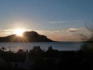 Isle of Arran house with sea views Lamlash