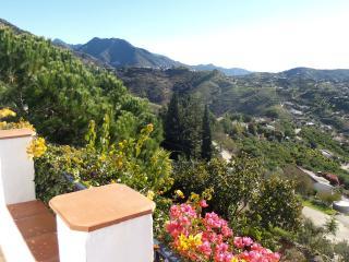 Prachtige omgeving bij Cómpeta, het uitzicht