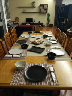 Sala da pranzo/colazione e living room