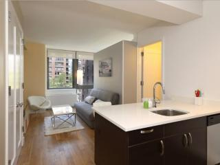 Great Amenities - Sleek 1 Bedroom Apartment in New York, Nueva York