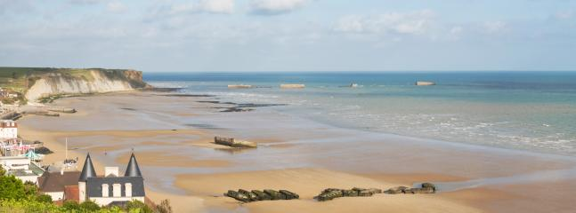 Goldstrand in Arromanches