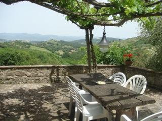 Beautiful 15th century villa with stunning views in the heart of Tuscany.