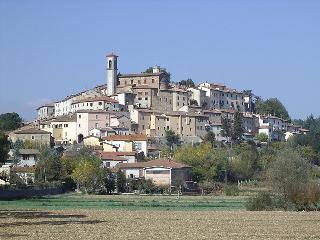 Monterchi -the nearest town is about 80 km southeast of Florence and about 20 km east of Arezzo