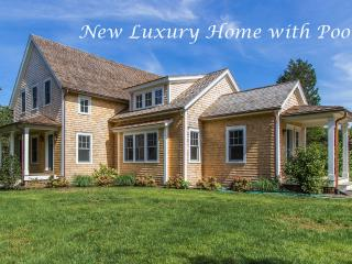 NAIDN - Gorgeous Chic Luxury Home, new for 2016,  Heated Pool 18x42,  Nicely Located within Walking Distance to Village, Short Drive to South Beach, Edgartown