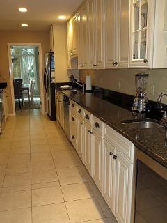 Newly remodeled fully stocked kitchen