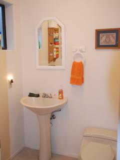Bathroom off of Living Room