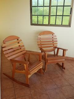 More rocking chairs for guests