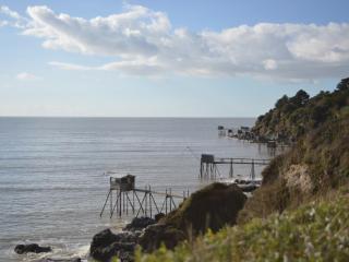 Appartement face mer avec piscine-200 mètres plage, La Bernerie-en-Retz