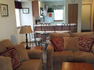 Comfortable Condo with Table Rock Lake view and access to indoor pool and splash pad, Branson