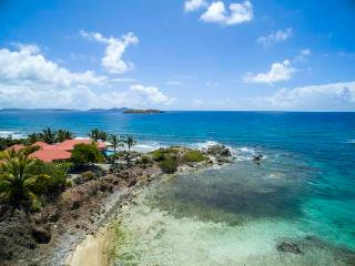 Coral Cove: Waterfront! Views of the BVI!