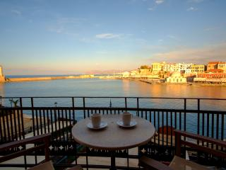 Erietta Suites Balcony and sea view