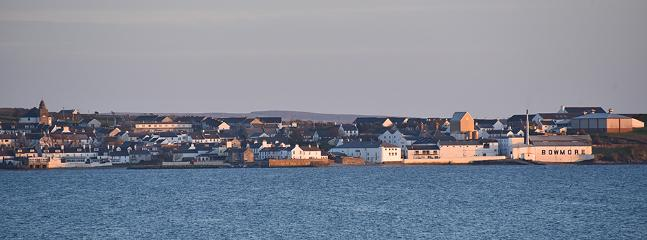 Bowmore taken from Lochindaal
