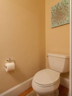 half a bath toilet.