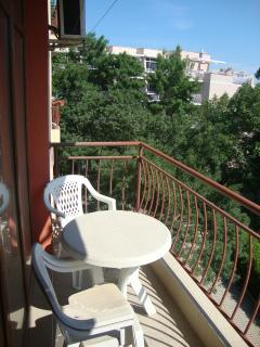 you can spend good time at the balcony
