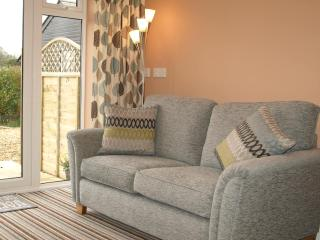 Your own lounge with views across the garden and beyond.