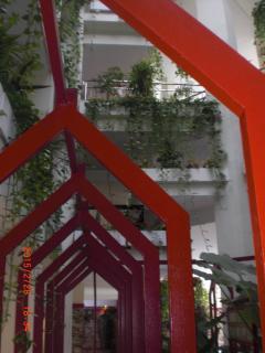 jardines colgados interiores