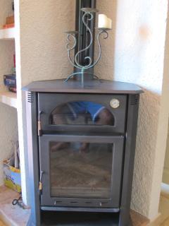 Wood burner for winter months