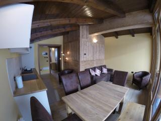 Penthouse 3 bedroom apartment 200m from ski lifts, La Thuile