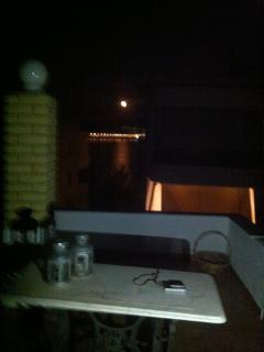 FULL MOON  from the veranda