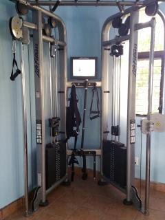 Palace Gym's new Life Fitness Universal Machine w/ interactive instruction video