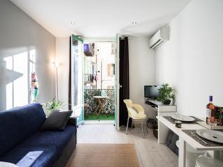 PORT OF NICE-renovated-1 bedroom-balcony-wifi-AC