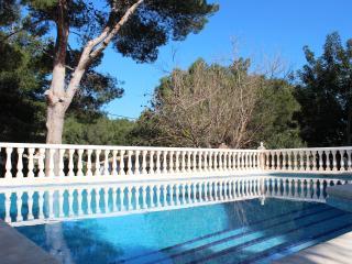 Villa with private pool and garden, Denia
