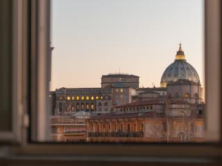 St.Peter's mirror -Romantic view-, Rome