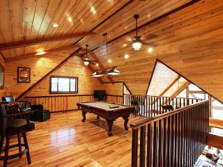Bonus Room with Pool Table and TV