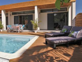 Villa de standing avec piscine à 100m de la plage