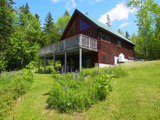 Waterview Log Home-minutes from Acadia
