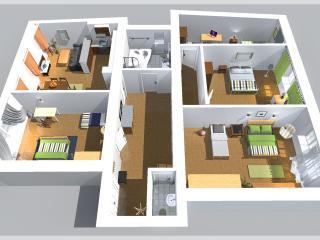 4-Bedroom City Center Apartment 135m2 Flat #8, Praga