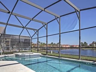 Stately 7BR Lakefront Kissimmee House w/Wifi, Game Room & Private Pool/Spa