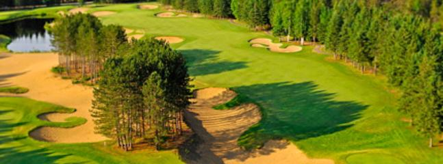 There are several golf courses to choose from depending on your skill level.