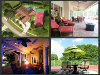 Tuscan Luxury Estate Private Tennis Ct Heated Pool, Wellington