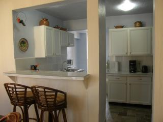 Remodeled kitchen.