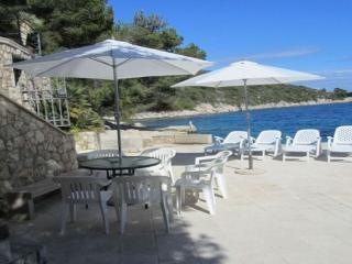 Luxury Villa Mia is located directly on the sea, Hvar