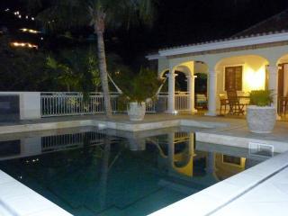 Villa Santai , in a tropical garden ...